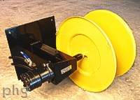 hydraulic wire winder
